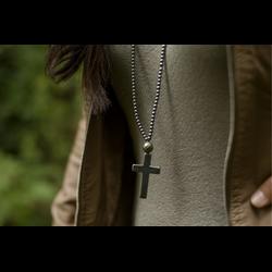 Hematite Cross