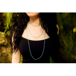 Amazonite Sparkle Necklace
