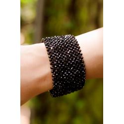 Onyx Hand-Woven Cuff