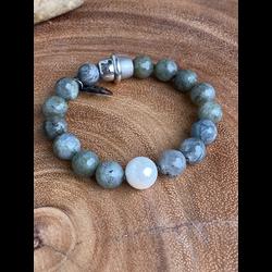 Labradorite & Shell Pearl