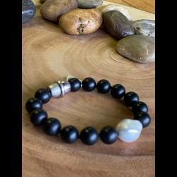 Onyx & Baroque Bracelet